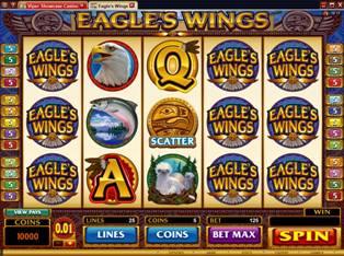Spiele EagleS Wings - Video Slots Online