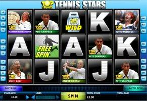 Top Trumps Tennis Stars™ Slot Machine Game to Play Free in OpenBets Online Casinos